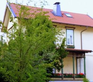 Wohnzimmer mit Balkon