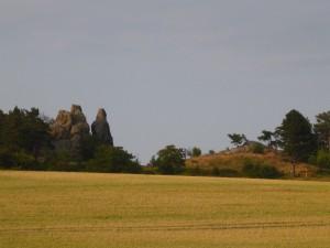 Teufelsmauer bei Timmenrode