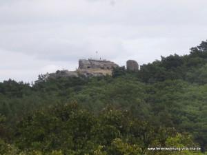 Burgruine Regenstein in Blankenburg, alte Raubritterburg