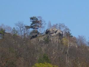 Großvaterfelsen in Blankenburg an der Teufelsmauer