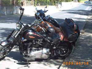 Direkt vor der Haustür, starten die Motorradfreunde zur Harztour
